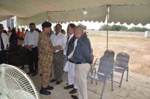 EarthBreakingCermony of Lecture Halls and Hostel By GOC 25 Mech Div (10)