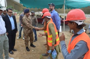 EarthBreakingCermony of Lecture Halls and Hostel By GOC 25 Mech Div (14)