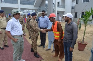 EarthBreakingCermony of Lecture Halls and Hostel By GOC 25 Mech Div (6)
