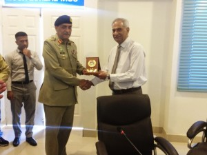 Visit of Muhammad Tahir Khadim (Advisor in Pathoogy and Comdt. AFIP)
